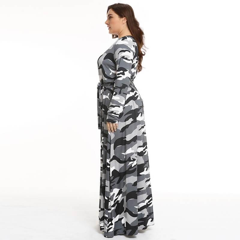 Two colors Size 18 Dresses - gray left