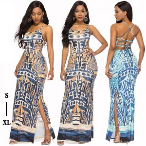 Strappy Summer Dresses - Wholesale Maxi Dress | Chic Lover
