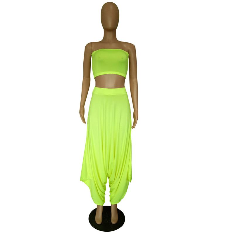 Two Piece Sets Women - green front