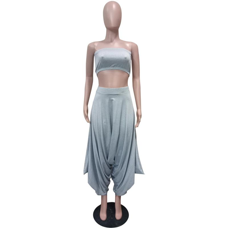 Two Piece Sets Women - grey front