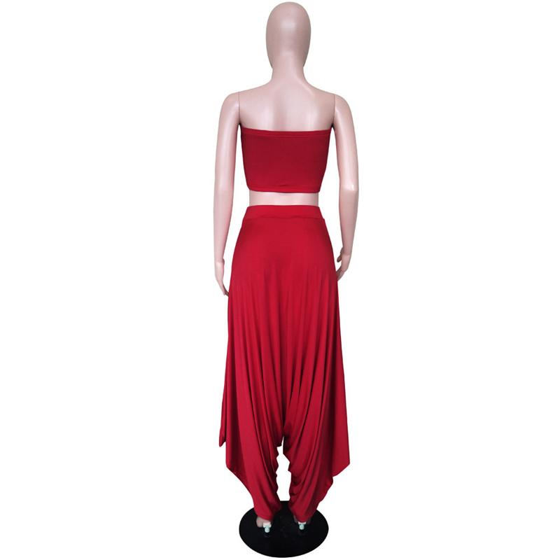 Two Piece Sets Women - red back