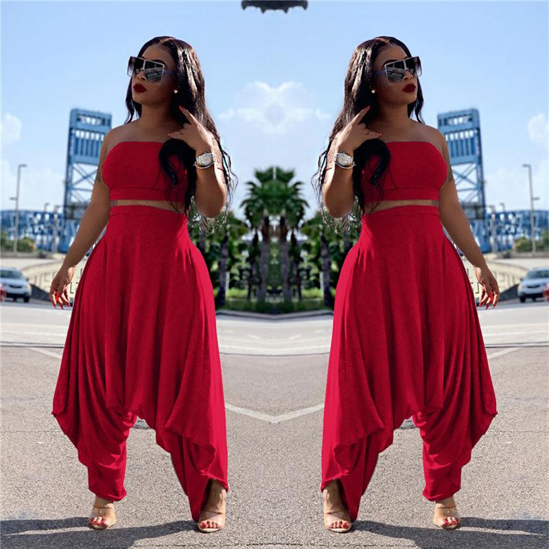 Two Piece Sets Women - red color