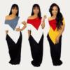 Summer Maxi Dresses - three colors front