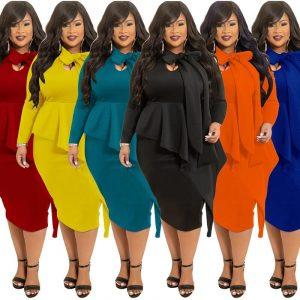 plus Size Mother Of The Bride Dresses - six colors