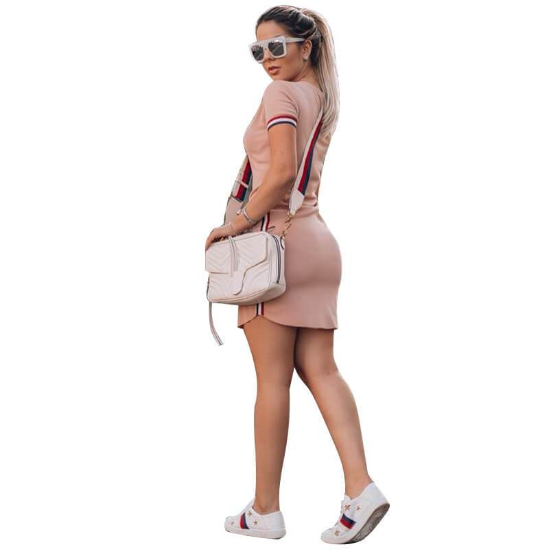 Casual Dresses for Women - pink back