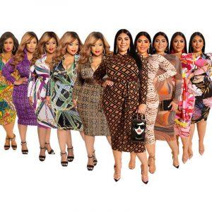 Cheap Plus Size Dresses - colors