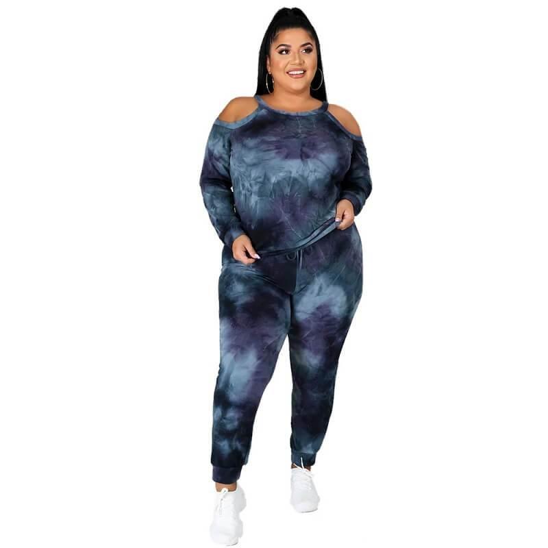 Plus Size Dye The Dark Suit - dark blue positive