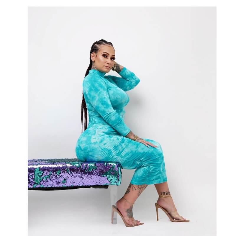 Plus Size Elegant Dresses - cyan main picture