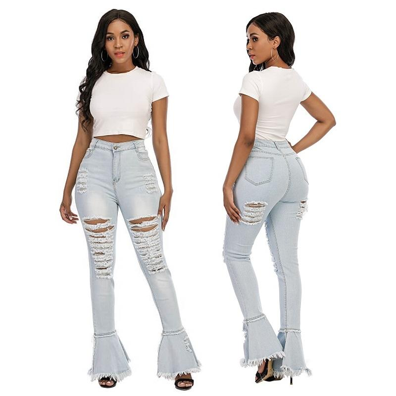 Plus Size Flare Jeans - main picture