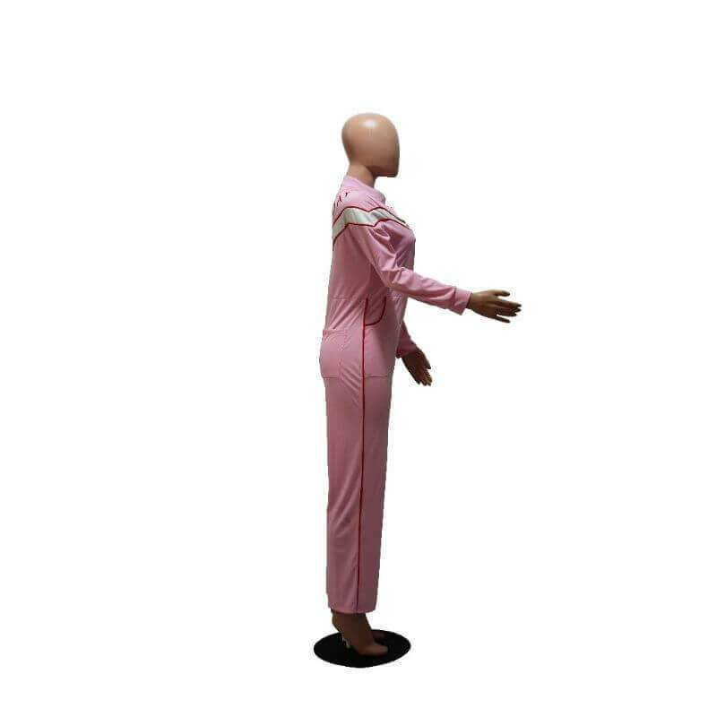 Pink Jumpsuit Womens - pink right