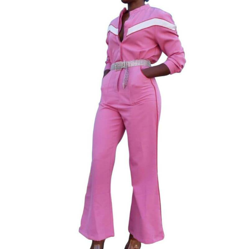 Pink Jumpsuit Womens - main picture