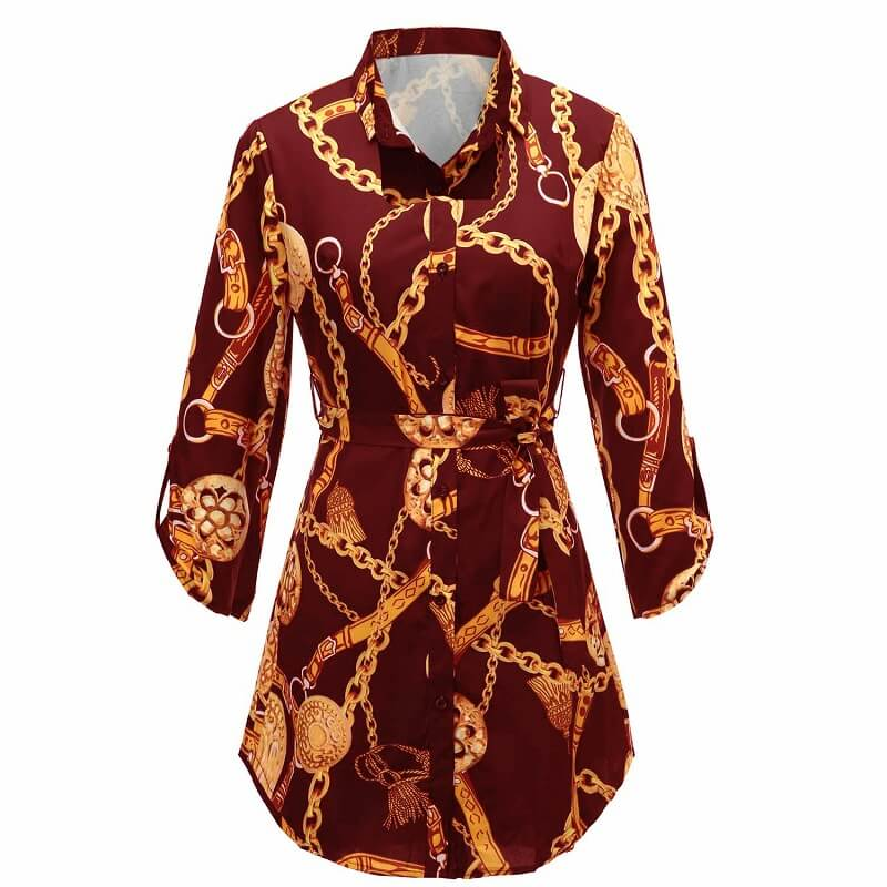 Green Blouse Plus Size - wine red  color