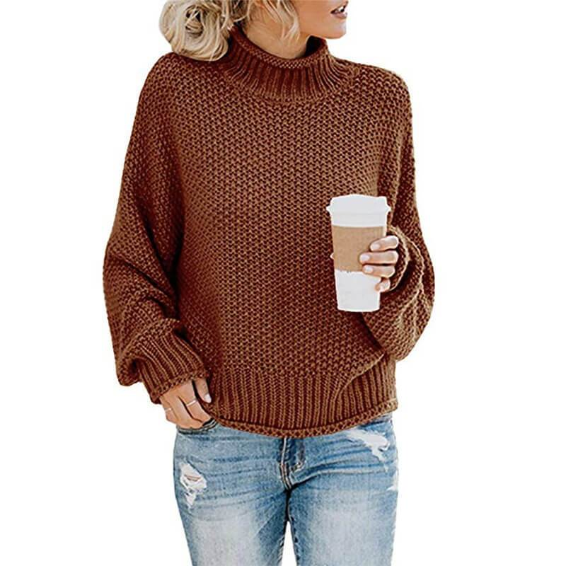 Ugly Sweater Plus Size - Caramel color