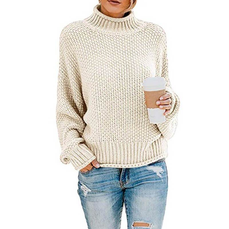 Ugly Sweater Plus Size - beige color