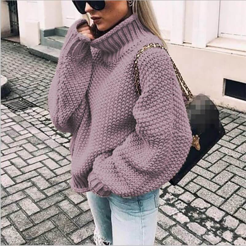 Ugly Sweater Plus Size - purple color