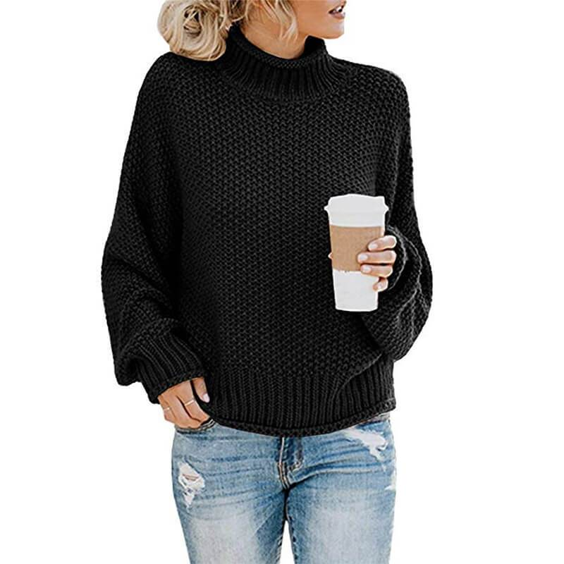 Ugly Sweater Plus Size - black color