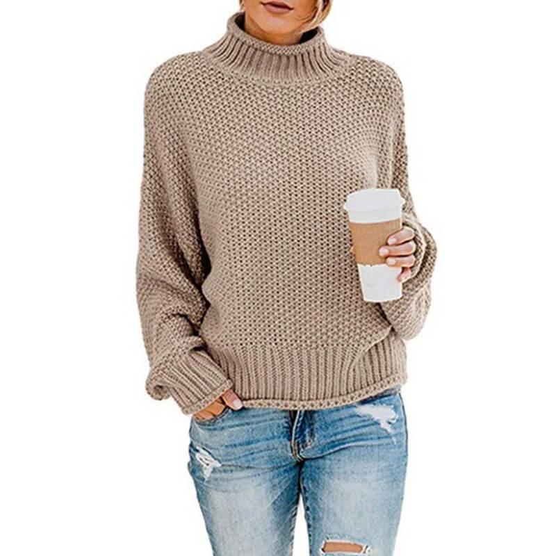 Ugly Sweater Plus Size - khaki color