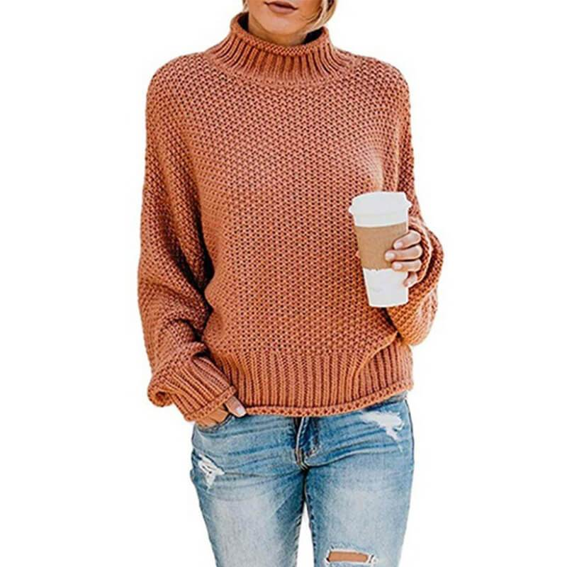 Ugly Sweater Plus Size - rust red color