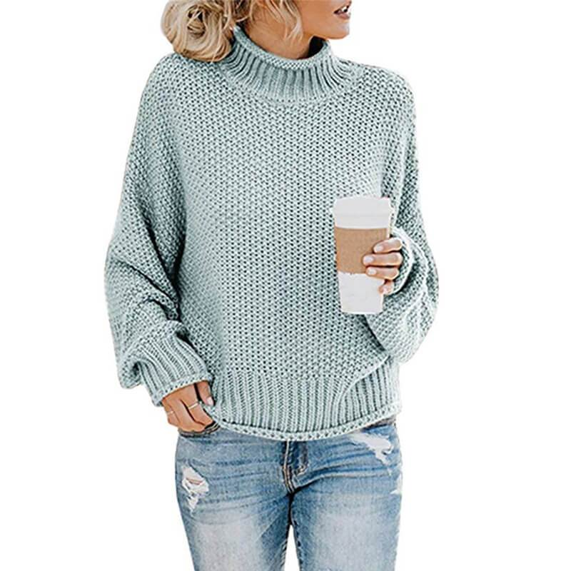 Ugly Sweater Plus Size - blue gray color