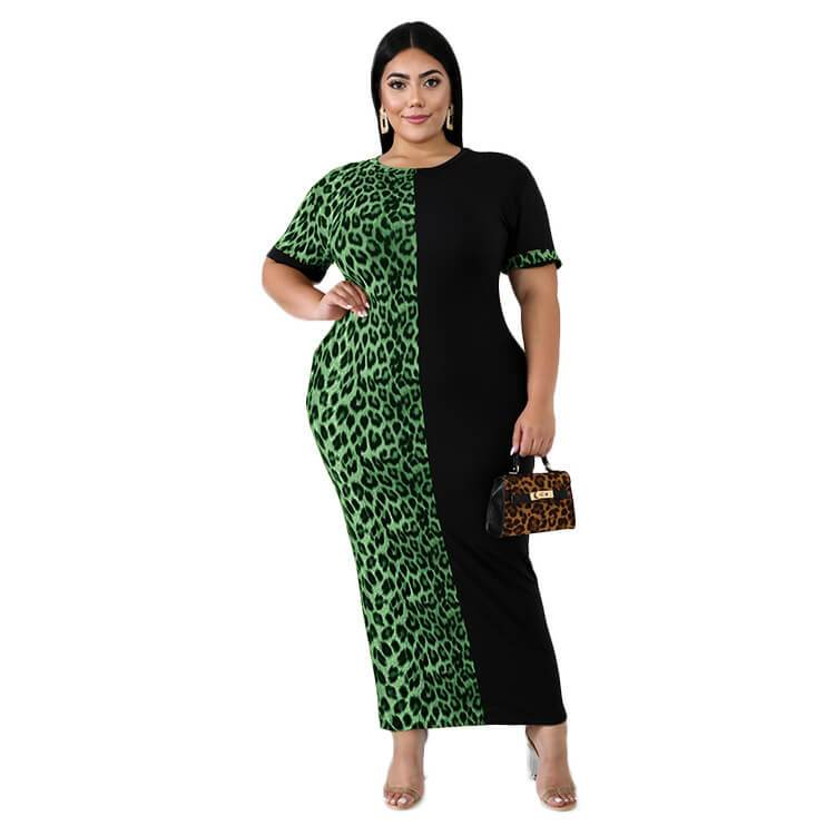 Plus Size Formal Dresses & Gowns - green color