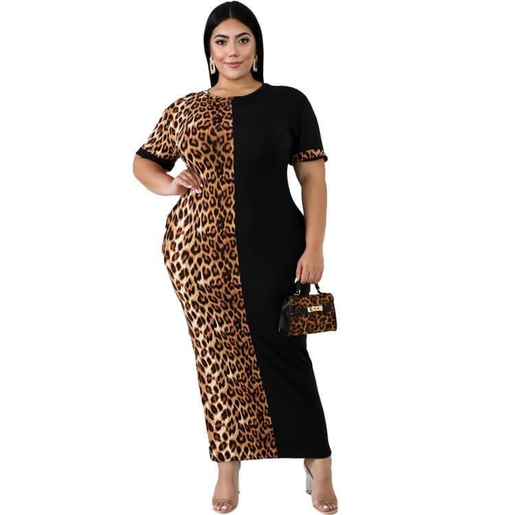 Plus Size Formal Dresses & Gowns - black color