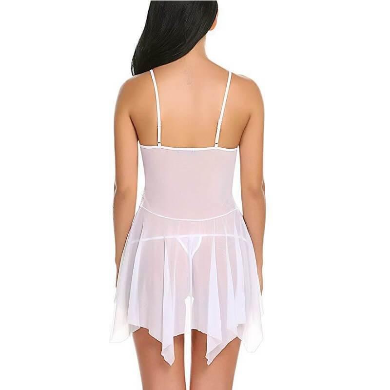 Plus Size Lingerie Wholesale - white back