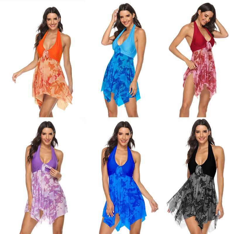 Light Blue Plus Size Dress - six colors