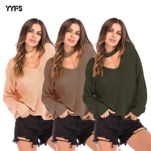 Halter Loose Sweater - main picture