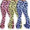 Plus Size Leopard Trousers - main picture