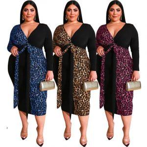 Plus Size Party Dresses  -  three colors main picture