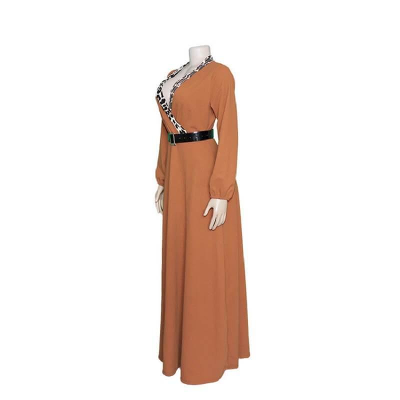 Winter Maxi Dresses  - khaki left