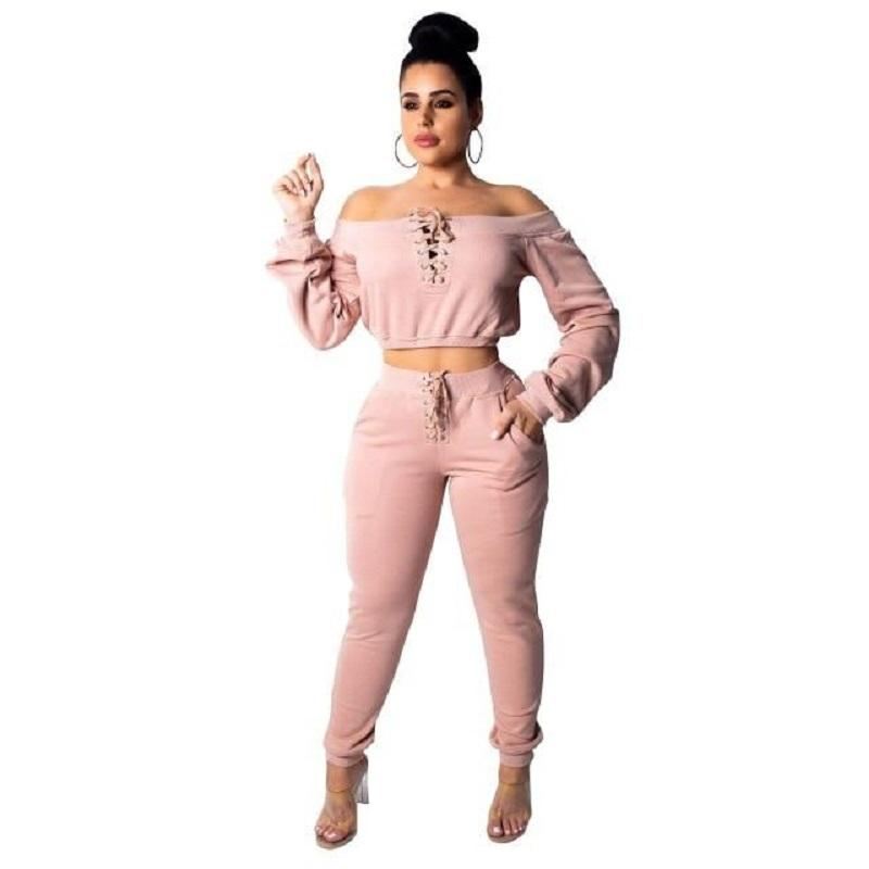Two Piece Set - Pink color