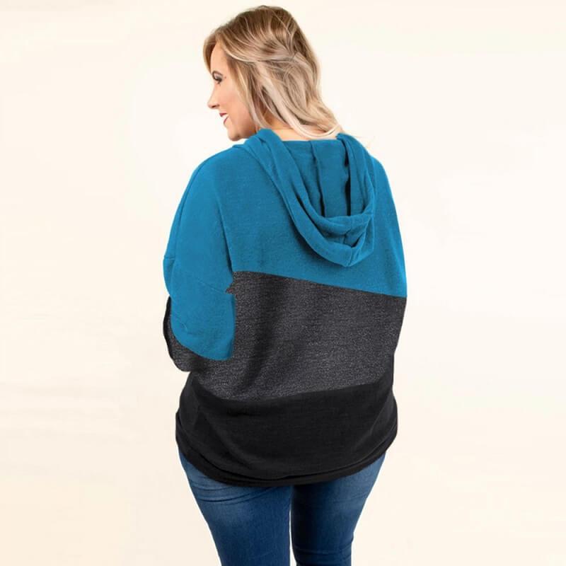 Plus Size Friends Shirt - blue back