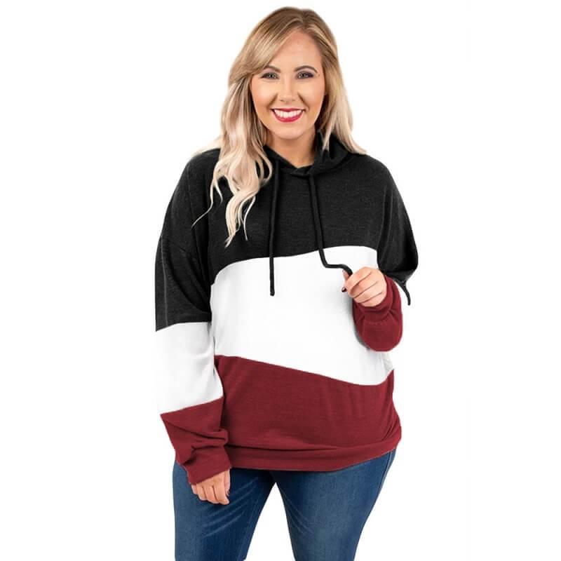 Plus Size Friends Shirt - black color