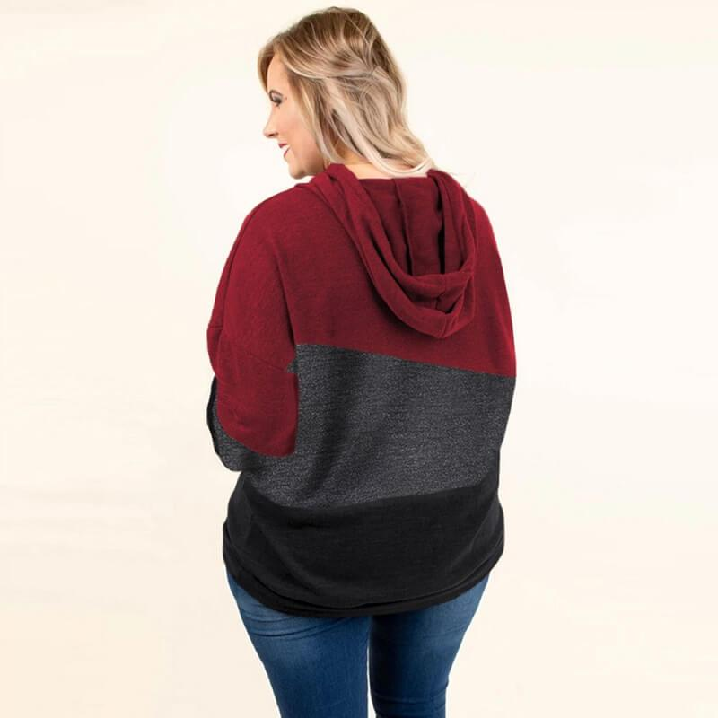 Plus Size Friends Shirt - red back