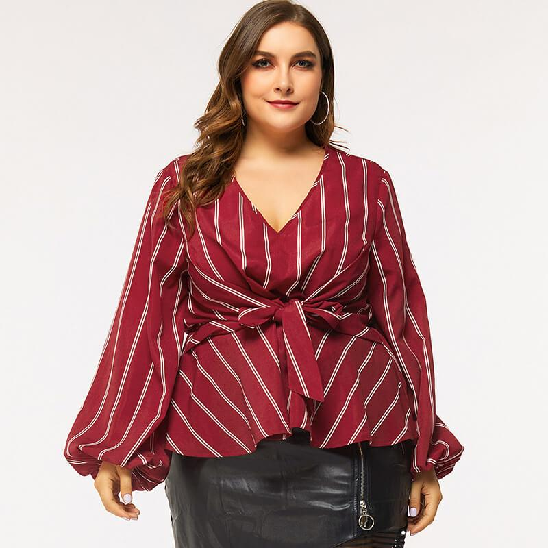 Red Shirt Plus Size - main picture