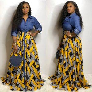 Plus Size Long Formal Dresses - yellow colors