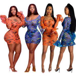Petite Plus Size Dresses - two colors
