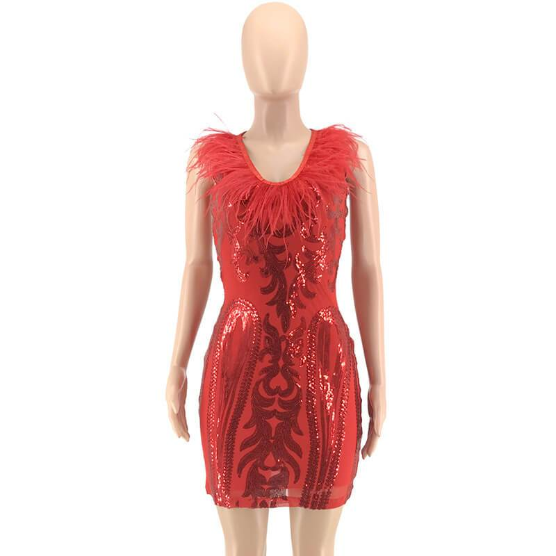 Red Dresses - red front