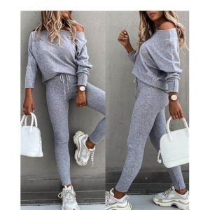 Plus Size Camel Sweater - gray color