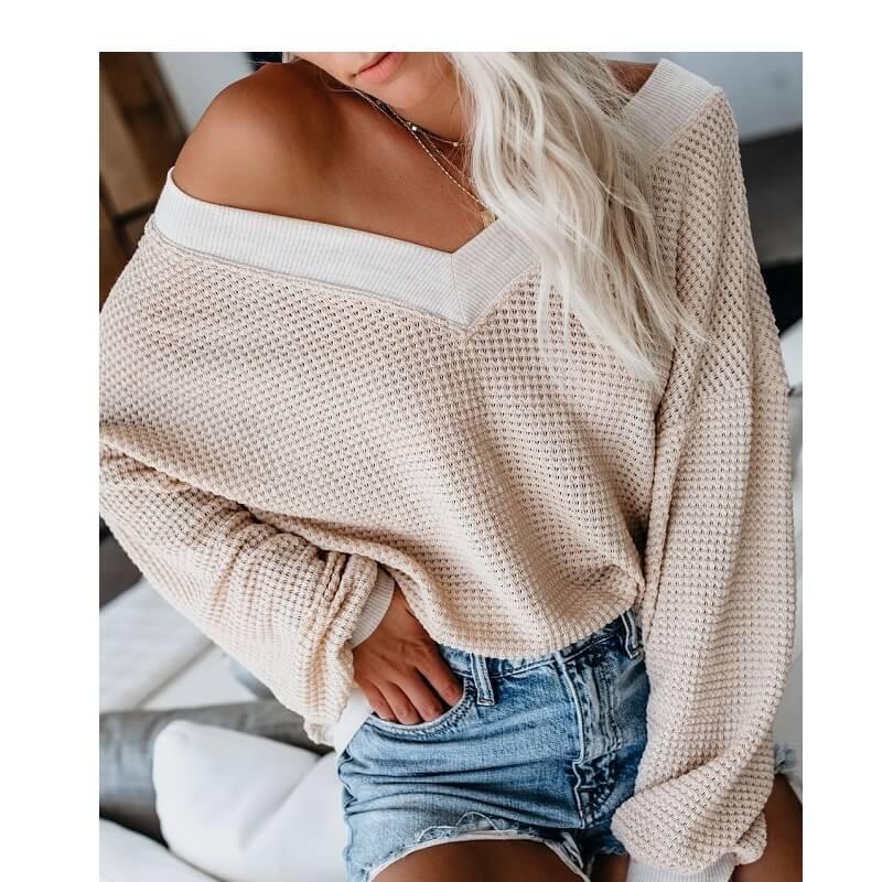 Plus Size Black Tee Shirt - apricot color