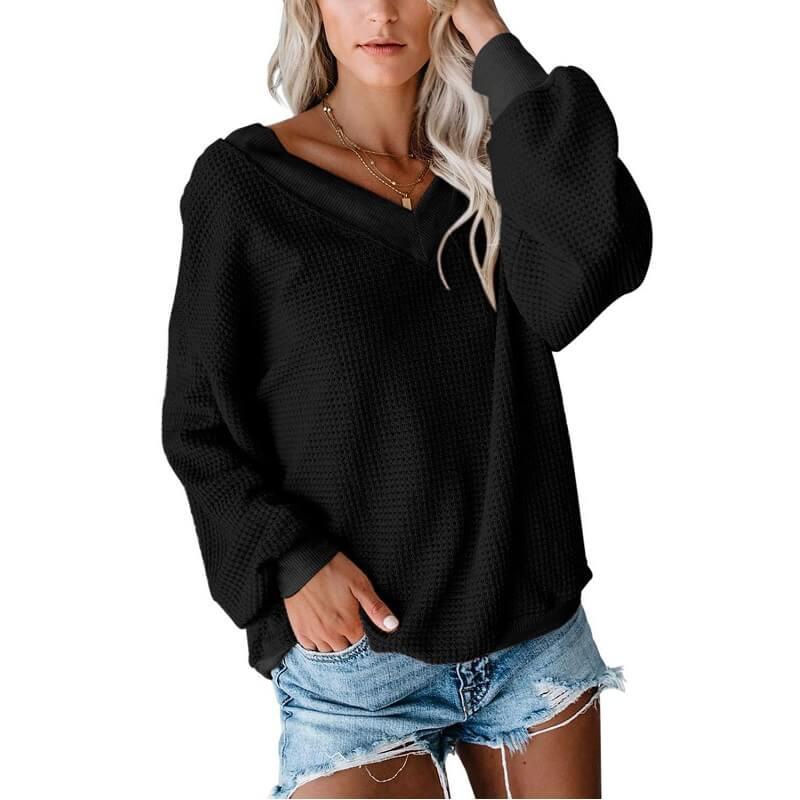 Plus Size Black Tee Shirt - black color