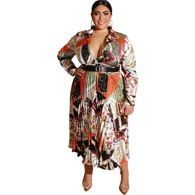Plus Size Homecoming Dresses - multi whole body