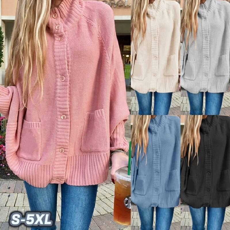 Plus Size Fleece Coat - five colors
