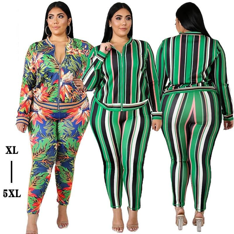 Plus Size Loose 2 Two Piece Set - main picture
