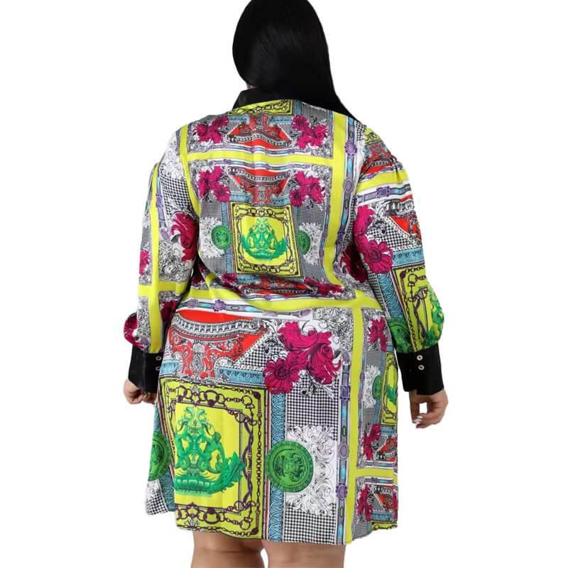 Plus Size Mother Dresses Under 100 - multi back