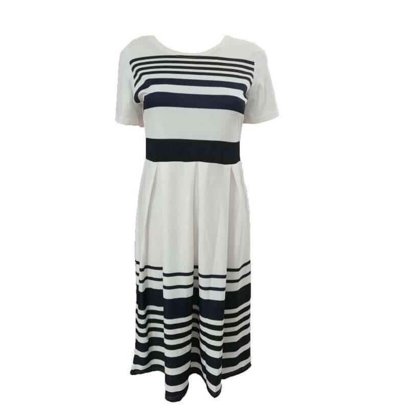Plus Size Skirt Sets - navy positive