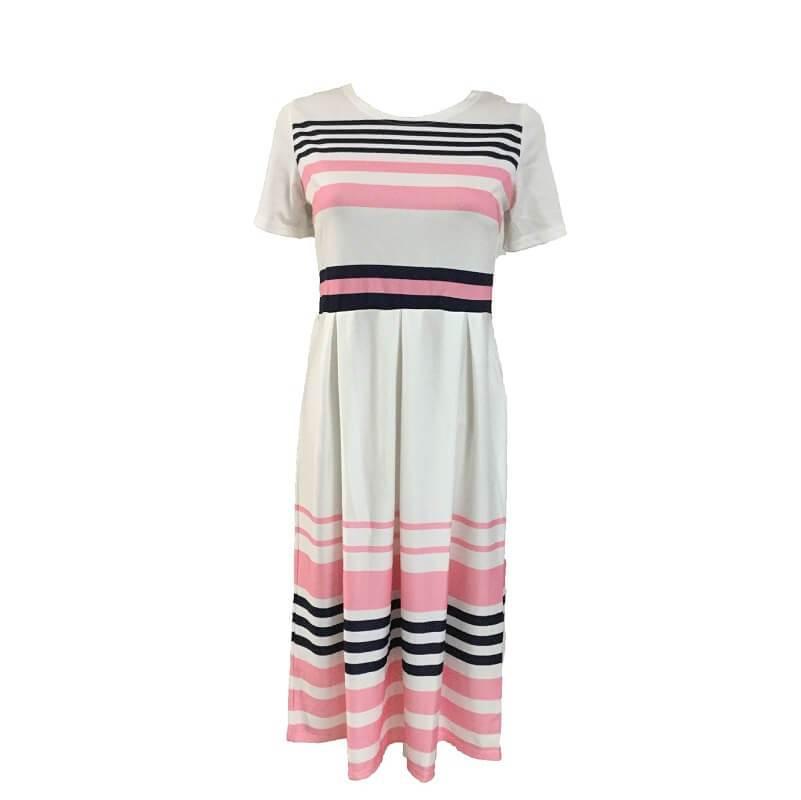 Plus Size Skirt Sets - pink positive