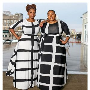 Plus Size Swing Dress - main  picture