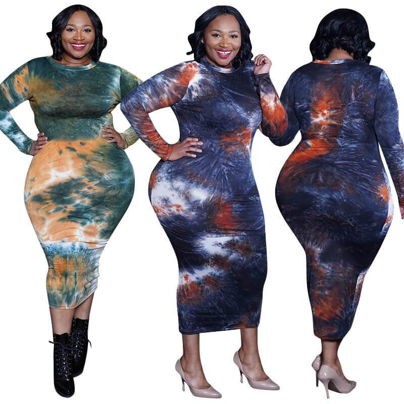 Plus Size Discount Formal Dresses - two colors